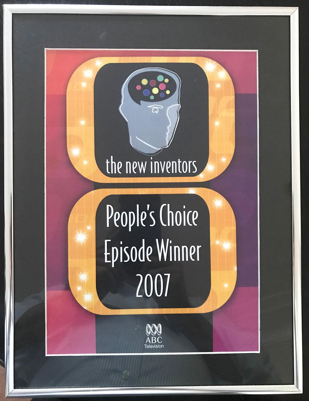 Transking New Inventors Award