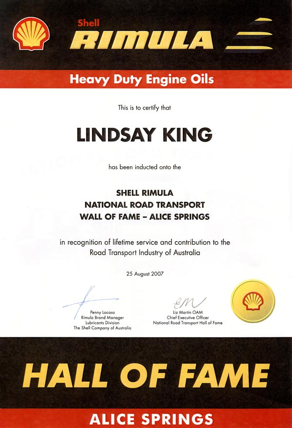 The Shell Certification